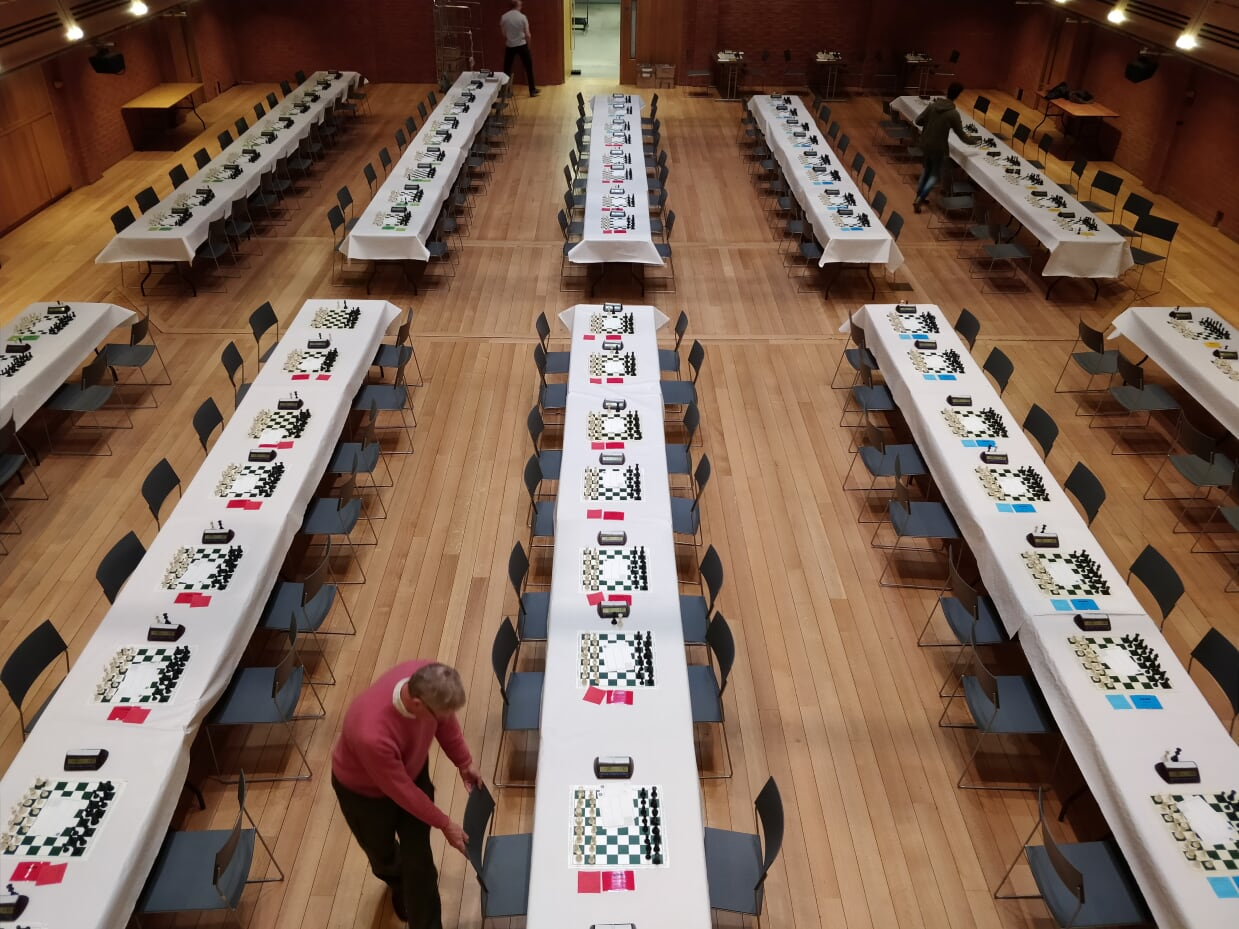 Results from the Bury St Edmunds Chess Congress