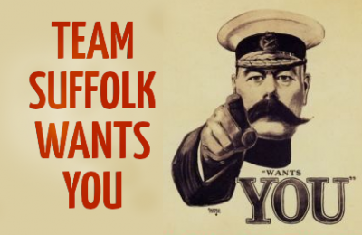 Team Suffolk Wants You